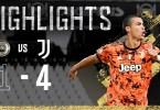 Highlights: Spezia 1-4 Juventus