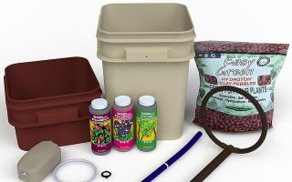 General Hydroponics Waterfarm Complete Hydroponic System Grow Kit