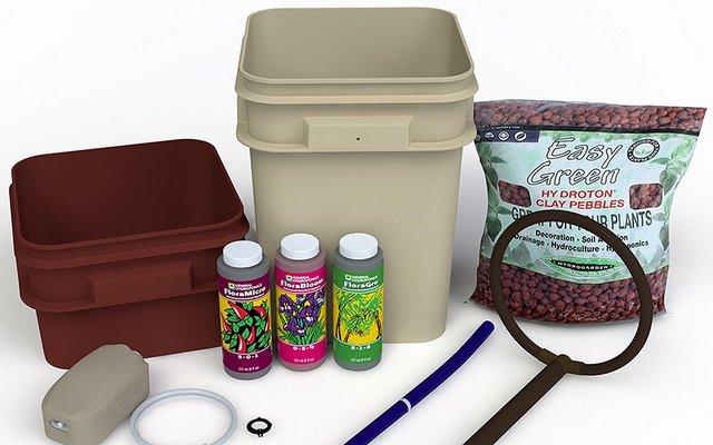 Hydroponic Grow Kit Review - General Hydroponics Waterfarm