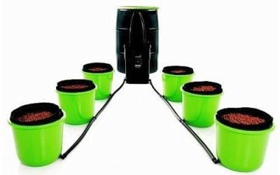 Oxygen Pot, 6 Bucket XL Ebb and Flow – Best Hydroponic Systems
