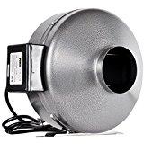 iPower 6 Inch 442 CFM Inline Duct Ventilation