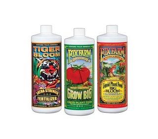 Fox Farm FX14049 Liquid Nutrient Trio Soil Formula