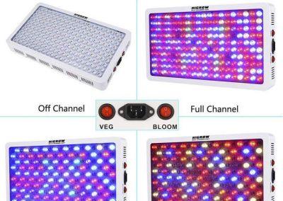 HIGROW - Veg - Bloom channel