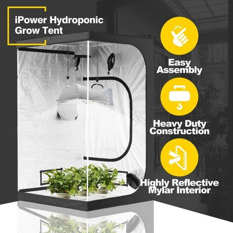 ipower hydroponic grow tent review