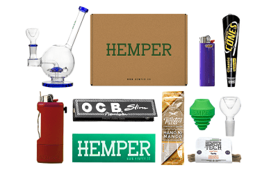 Thinking on a Smoker Subscription Box? Hemper Box Review
