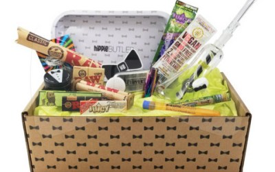 Hippie Butler Subscription Box Review | Great Value 420 Box