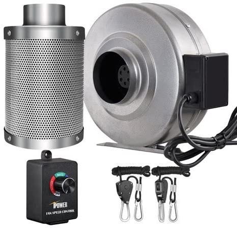 iPower 4 Inch grow room ventilation kit