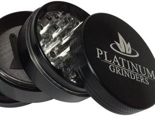 Platinum Grinders Herb Grinder with Pollen Catcher