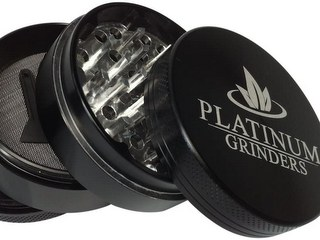 Platinum Grinders Herb Grinder with Pollen Catcher