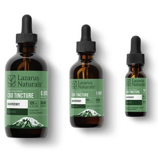 Lazarus Natural Full Spectrum CBD Tincture