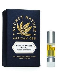 secretnature vape juice Lemon Diesel
