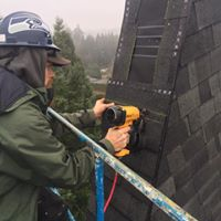 Working on a Roof