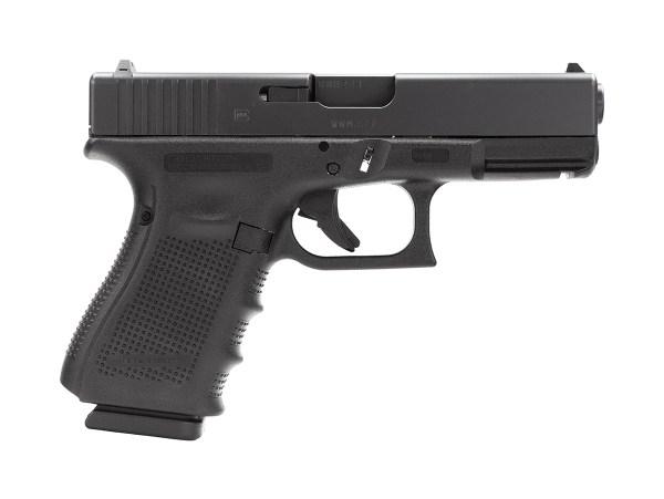 Glock 19 GEN 4 9mm - Black - Top Gun Supply