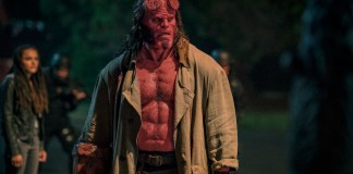 David Harbour stars as 'Hellboy' in HELLBOY.Photo Credit: Mark Rogers.
