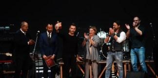 Nek e Alberto Bertoli premio Bertoli 2018