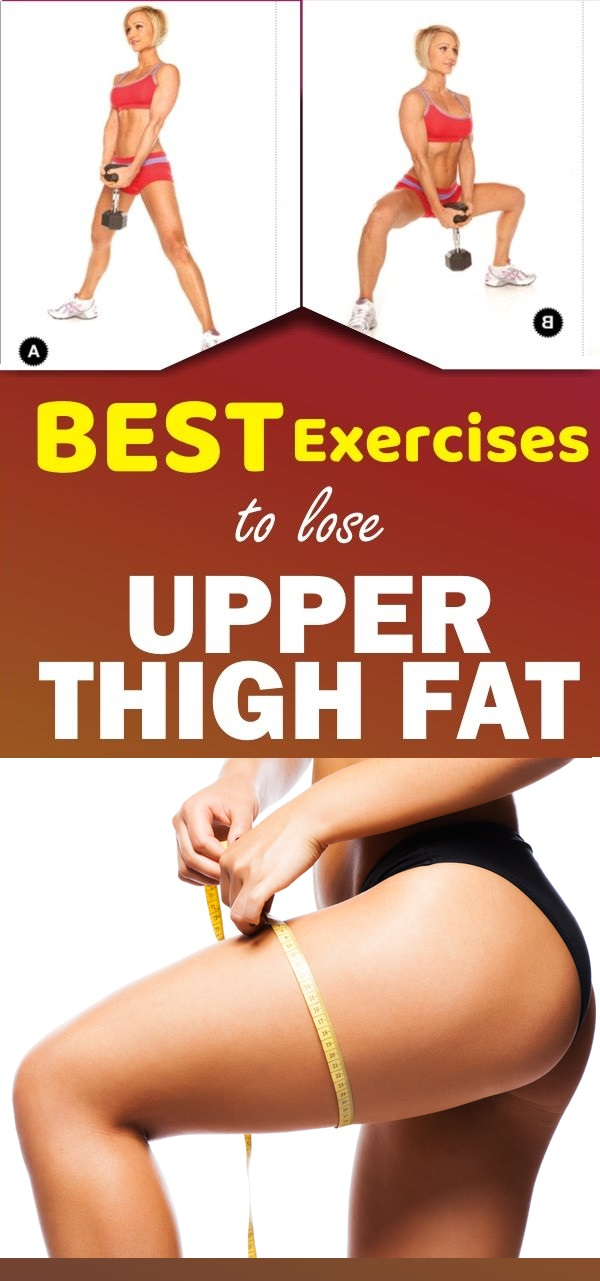 best exercises to lose upper thigh fat
