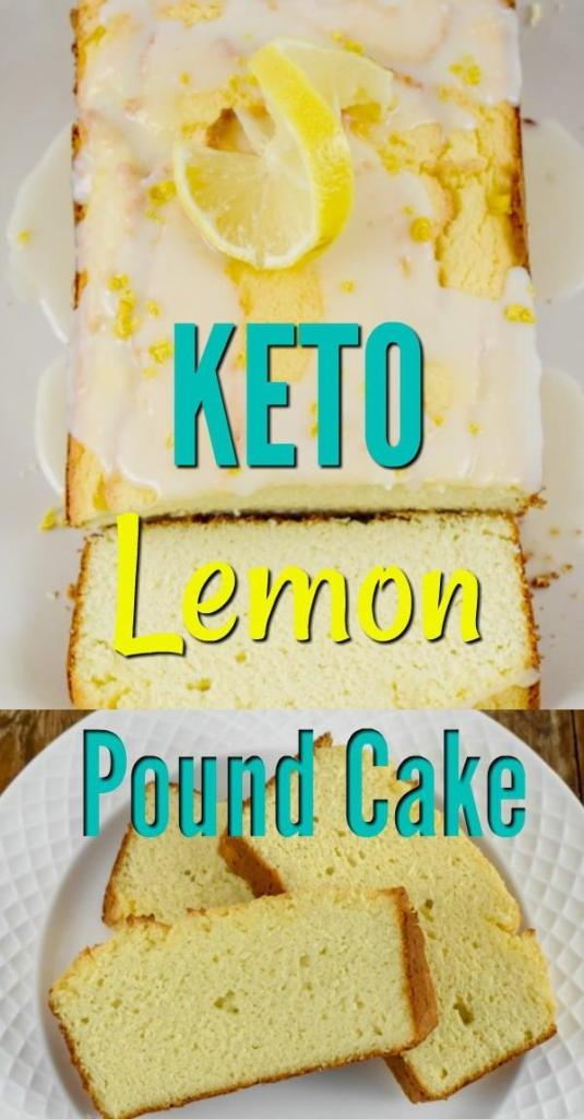Low Carb Lemon Pound Cake recipe