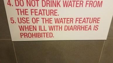 Dire warning.