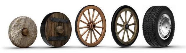 Resultado de imagen para el invento de la rueda