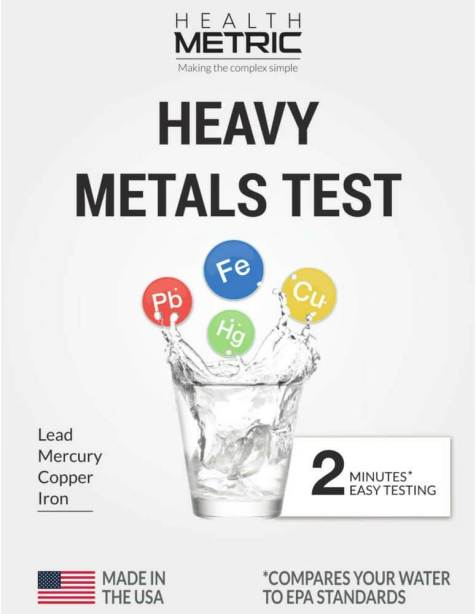 Lead Iron Copper and Mercury
