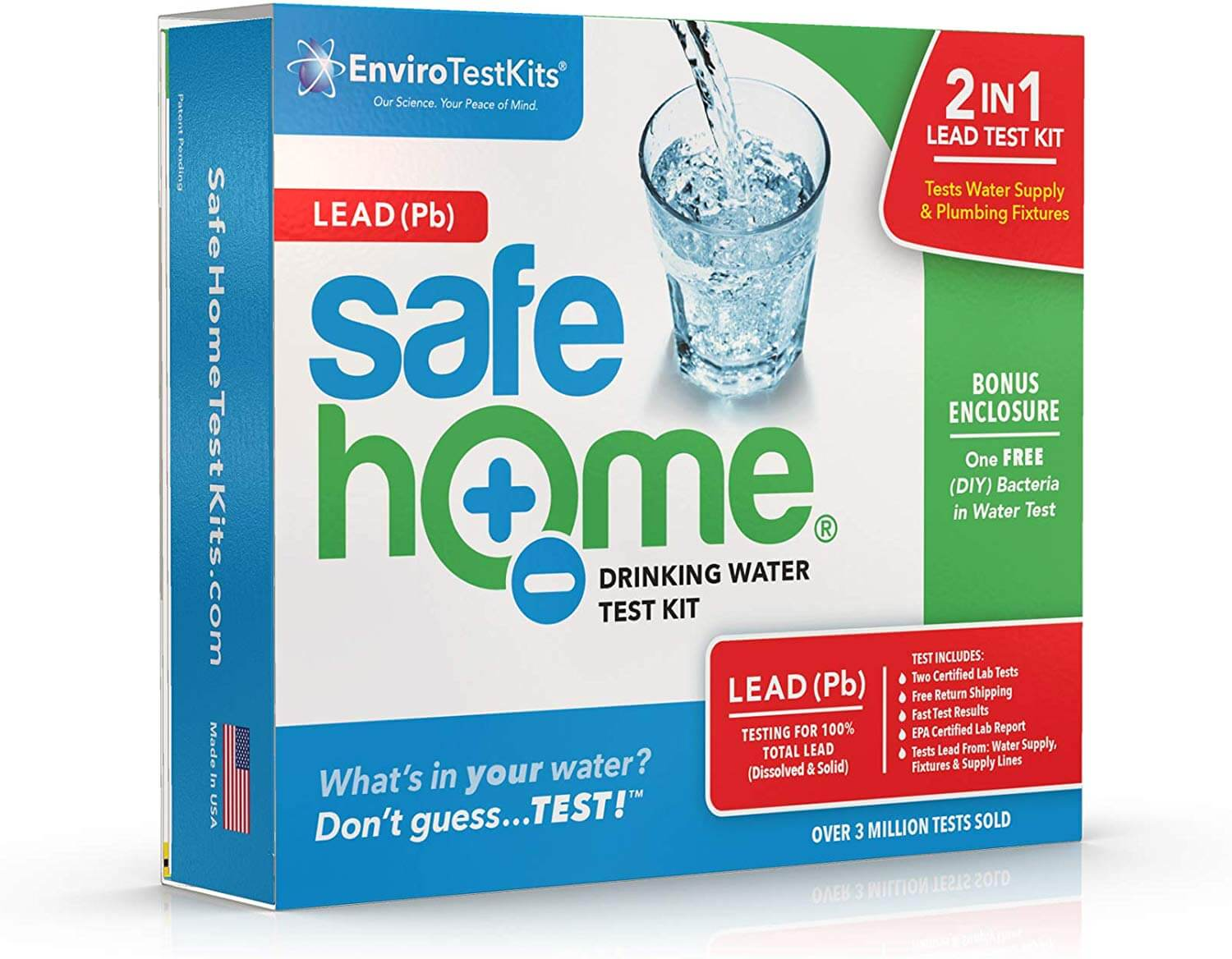Safe Home LEAD in Drinking Water Test Kit