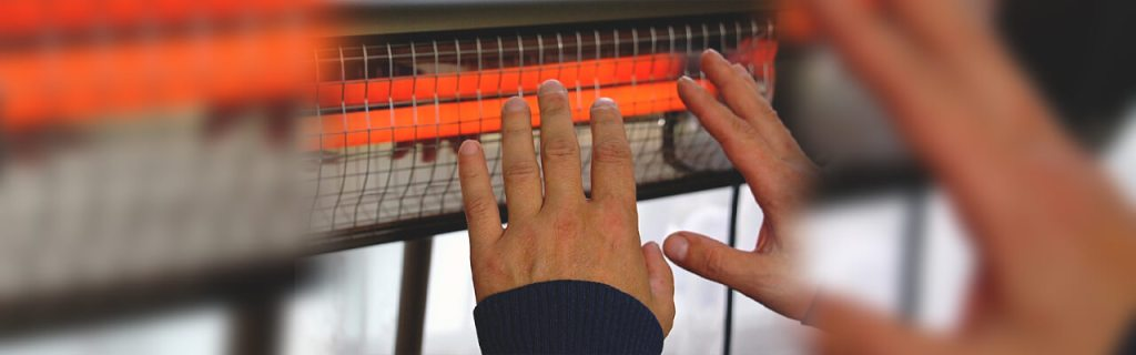 What are infrared heaters?
