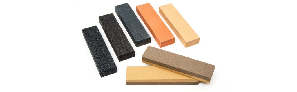 Major types of Stones used for Sharpening knives