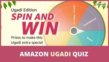 Amazon Ugadi Edition Quiz Answers Spin and Win Special Prizes