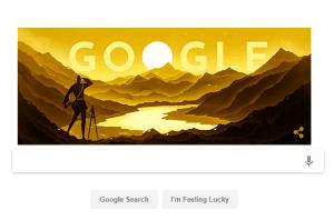 गूगल ने डूडल के जरिए मनाया नैन सिंह रावत का जन्मदिन