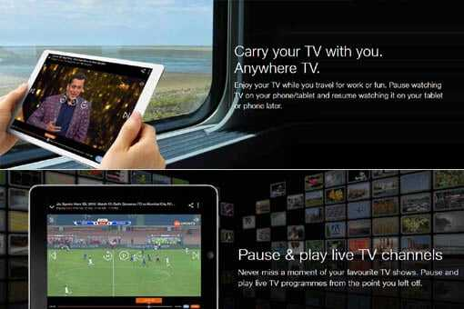 live tv without internet for android in hindi
