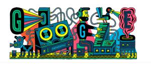 गूगल डूडल : इलेक्ट्रॉनिक म्यूजिक इंडस्ट्री को पूरे हुए 66 साल