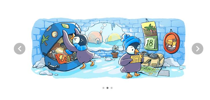 "google doodle, Google Doodle Celebrates ""December global festivities 2017"" (Day 2)"