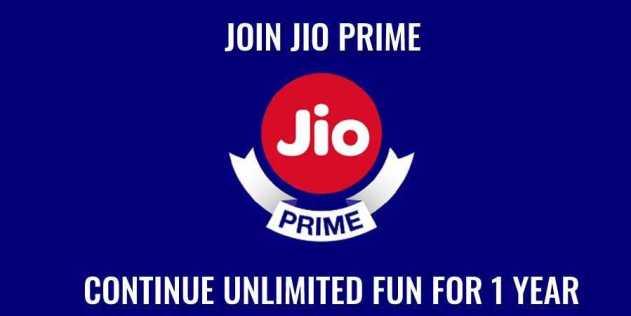jio prime membership Extended