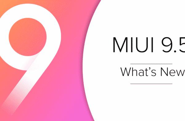 MIUI 9.5 update