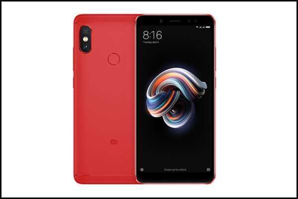 Redmi Note 5 Pro Red Colour