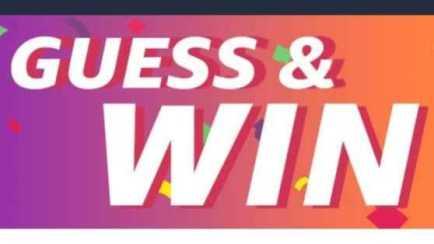 Amazon Guess & win