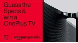 Amazon Guess The Specs Quiz Answers Win - OnePlus TV