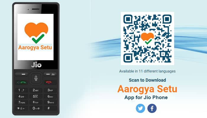 Let's Talk about Arogya Setu app Download link For Jio phone