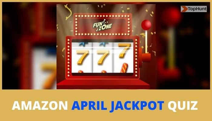 Amazon April Jackpot Quiz Answers Win GoPro Hero 9
