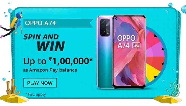 Amazon OPPO F19 Series Quiz Answers For Today Win ₹20000