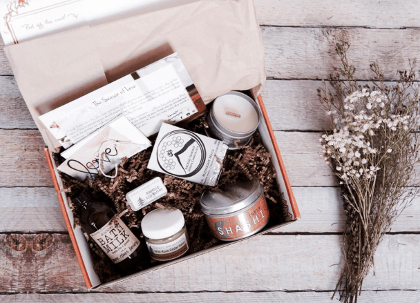 A subscription box of spices and jams from Prospurly