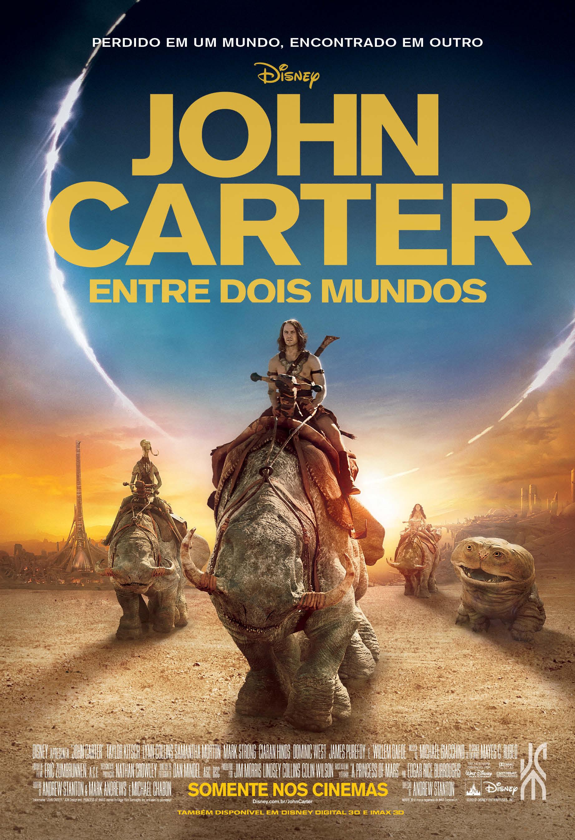 Poster do filme John Carter - Entre Dois Mundos