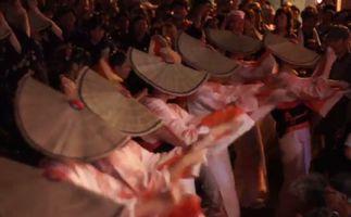 おわら風の盆踊り子たち