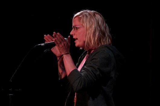 Bonny Lycen beim TIPS Fem Slam September 2018 im Beyerhaus