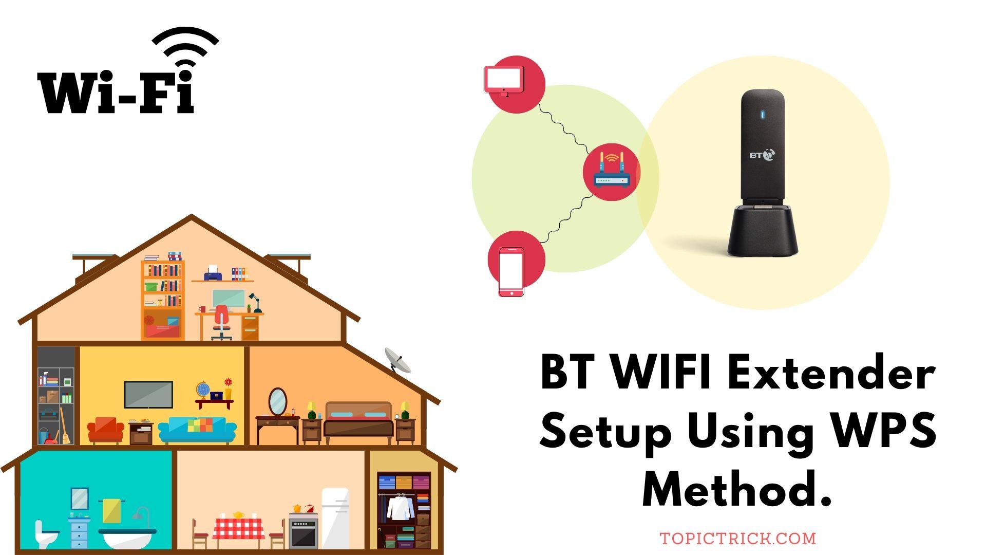 BT Wifi Extender Setup Using WPS Method