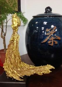 朱炳仁大師熔銅藝術精品《道-老子》