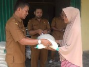 Tak Mudik, Perantau Padang Pariaman Sumbangi Warga Kampung Halaman