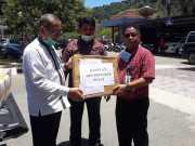 IKPS Pusat Bantu APD untuk RSUD Painan