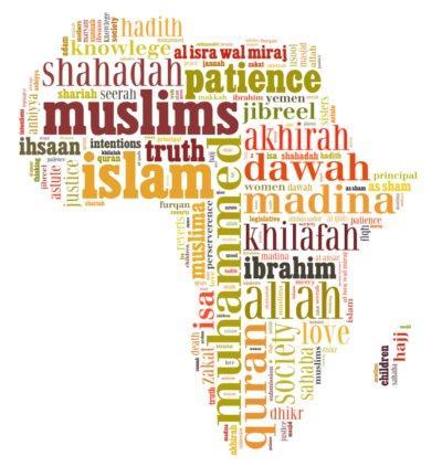 africa islamic vector image