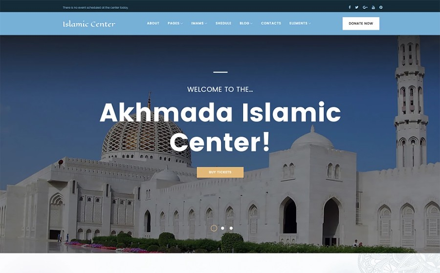 akhmada wordpress islamic template